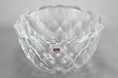 A Berit Johansson 'Haga' Bowl For Orrefors. Clear. Swedish Glass Design • 75£