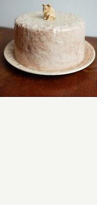Vintage Sylva Ceramic Mouse  Lidded Cheese Dish • 45£