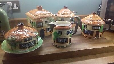 Vintage Beswick Cottage Ware Set - Good Condition • 50£