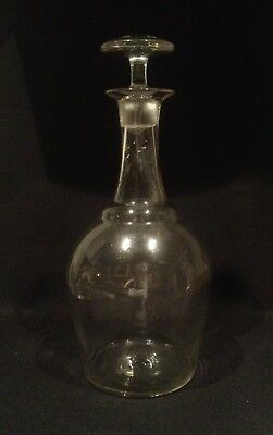 Antique French Magnum Cider Decanter With Stopper C.1890 • 120£