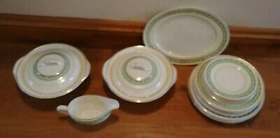 Vintage 1958/59 Portland Pottery Cobridge Dinner Service For 4/6 • 110£