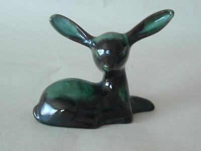 BMP Blue Mountain Pottery Fawn / Deer Lying Down • 18.99£