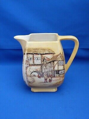 Collectable Vintage L & Sons Ltd Hanley Water Jug The Jolly Drover Inn H13.5cms • 14.99£