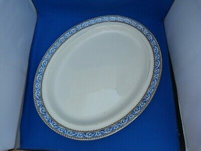 Collectable Vintage Booths Silicon China Oval Platter Meat Plate L37.5cm 44489 • 19.99£