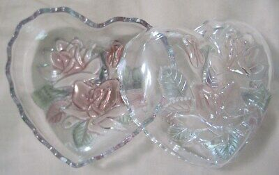 Nesting Heart-shaped Glass Candy Dish • 11.20£