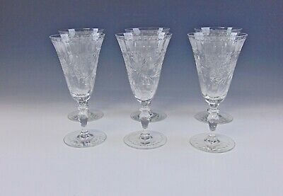 Lot Of 6 Hawkes CORONET Water Goblets EXCELLENT • 76.54£