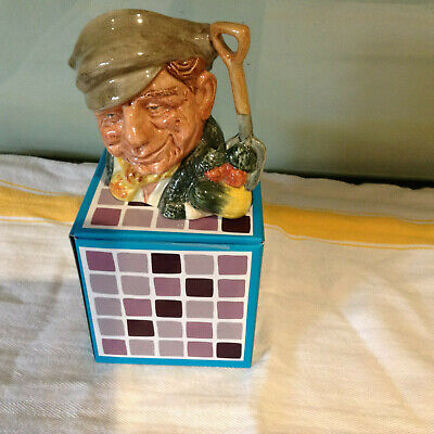 Royal Doulton Character  Toby Jug- The Gardener- Excellent • 25£