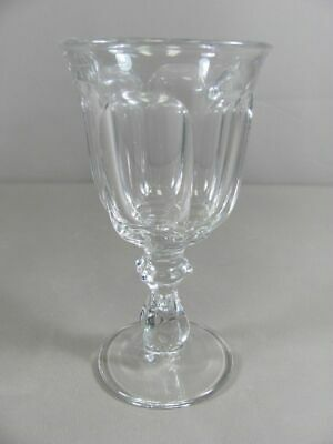Heisey Fine Glass COLONIAL-CLEAR Stem 373/341 Water Goblet • 11.93£