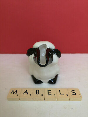 CARLTON WARE ~SHEEP~ Mint Saucer Holder Pourer Jug • 7.99£