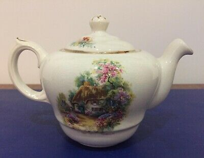 Small 1 Pint Vintage Bovey Pottery Homestead Teapot • 14£