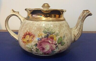 Arthur Wood 1.75 Pint Chintzy Floral Teapot • 24£