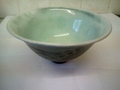 Antique Pancheon Slipware Bowl 4 Inches High 7inches Across • 40£