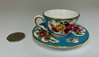 Royal Worcester Small Cup And Saucer • 38£