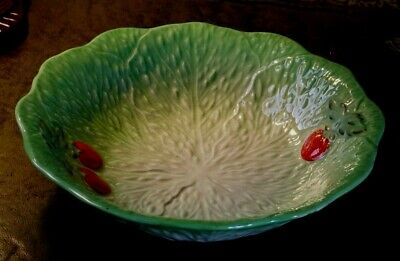 Vintage BESWICK WARE Lettuce Leaf & Tomato Back Stamped Excellent Condition • 123£