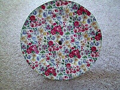 Royal Tudor Ware Chintz Cake Stand On Foot. • 7£