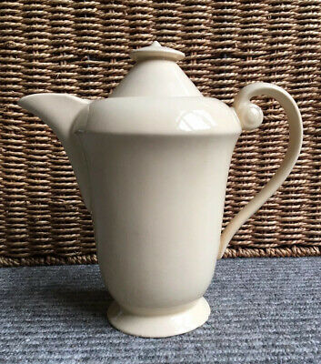 Unusual Wade Heath Vintage Cream Coffee Pot Teapot • 18.95£