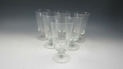 Lot Of 6 Fostoria Crystal DOLLY MADISON Iced Tea Glasses EXCELLENT • 51.82£