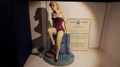 (Lot 506) Kevin Francis Marilyn Monroe By Peggy Davies Boxed Wit Certificate • 129.99£