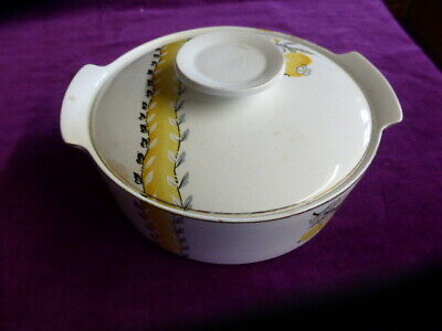 Vintage Mid Century Alfred Meakin Tureen Serving Dish Bowl  • 7.99£