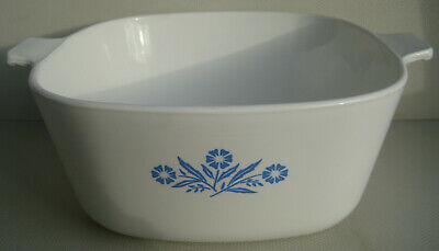 A Vintage Pyrosil Corning Ware 4 Pint Casserole Dish Made In Netherlands - Retro • 14.99£