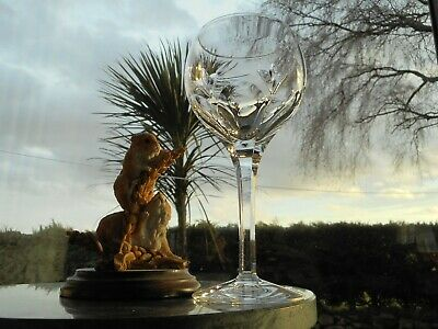 Stuart Crystal  VALENCIA  7 1/8   WINE  Glass OR Glasses ( 1st ) • 21.95£