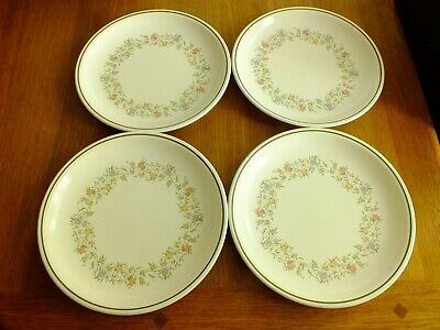 Bhs Country Garland Dinner Plates X 4 • 9.99£