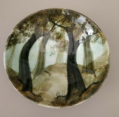 Ralph Jandrell Bowl ~ Trees ~ 8.5 Inches Across ~ New • 14£