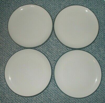 M&S Hamilton Blue Large Side Lunch Salad Dessert Plates 8.5  X 2 • 14.99£