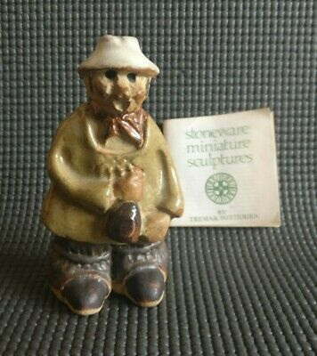 Vintage YOKEL Figure By Tremar Potteries Cornwall With Booklet • 7.99£
