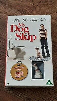 My Dog Skip VHS Rare With Wade Dog Figure. Special Video Pack. • 25£