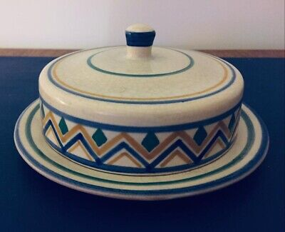 Poole Carter Stabler Adams Butter Dish And Lid • 28£