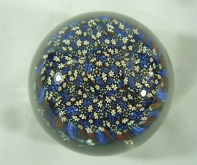 Paperweight With Millefiori And Daisies - Beautiful Design • 19£