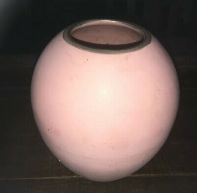 1980s Pink Vase, In Good Condition • 3£
