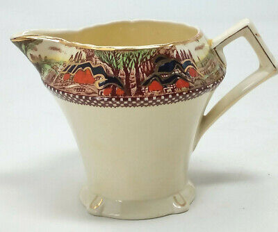 Myott Son & Co ENGLANDS COUNTRYSIDE Cream / Milk Jug Creamer ½ Pint • 15.95£