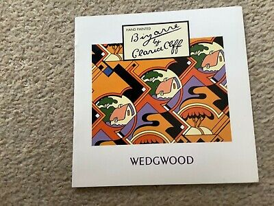 Bizarre By Clarice Cliff Rare 1993 Wedgewood Brochure. New Old Stock. • 4.99£
