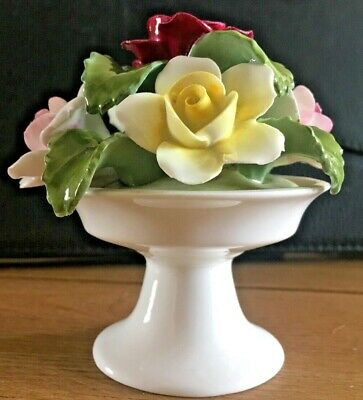 Aynsley Hand Painted Rose Posy • 9.99£