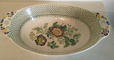 Mason's 'PAYNSLEY' Pattern Oval Serving Bowl/ Vegetable Dish- Ironstone- Rare • 28£
