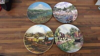 Royal Doulton  & Wedgwood Collector Plates - 4 Pieces • 8£