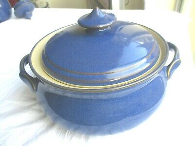 UNUSED Denby  Imperial Blue  Lidded Casserole Dish • 14.99£