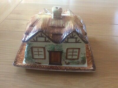 Keele Street Pottery Hand Painted Butter Dish • 5£