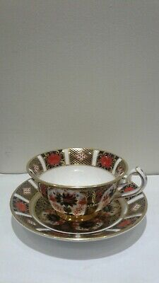 Beautiful Royal Crown Derby Imari Tea Cup And Saucer 1st Quality • 50£