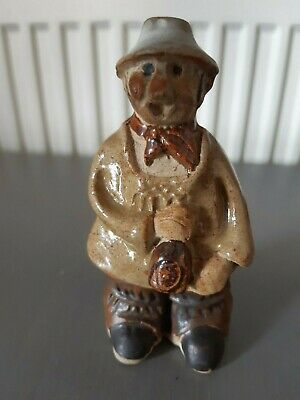 Tremar Yokel Figure Made In U.K. Great Condition Measures 4 3/4 Inches Tall • 7£