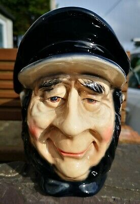 ⭐️ Large Kingston Pottery Mr Peggoty - Charles Dickens Character Toby Jug  • 9£