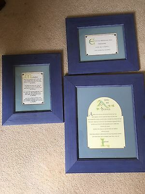 Irish Framed Extracts From The Book Of Kells • 19.99£