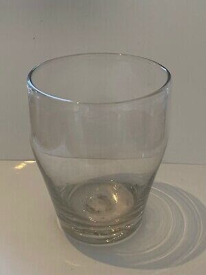 Antique Early Georgian Hand Blown Glass Whiskey Tumbler Drinking C1800 Toast • 14.99£