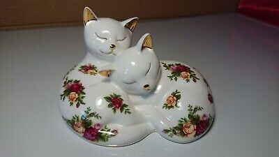 Royal Albert Old Country Roses Cats • 11.50£