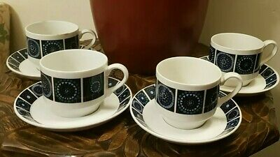 1960s Madeira Midwinter Duo Coffee Cups Nicholas Jenkins Marquis Of Queensberry • 0.99£