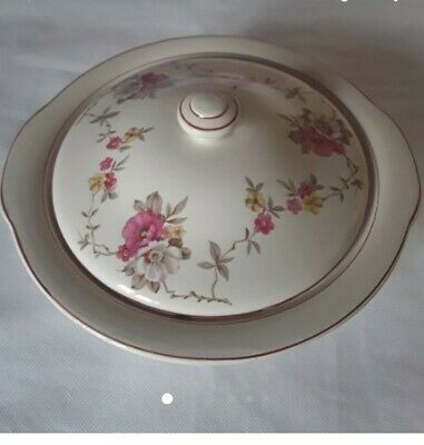 Vintage Wade Tureen Serving Bowl & Lid • 4.45£