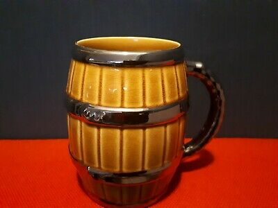 Vintage Wade Ceramic Barrel Shaped Mug • 6£