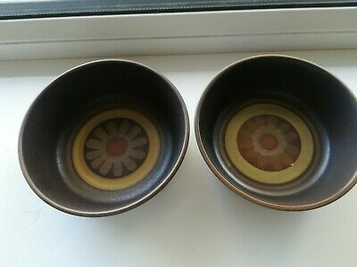 Denby Arabesque Small Serving Bowls/Dishes X 2 • 9.99£